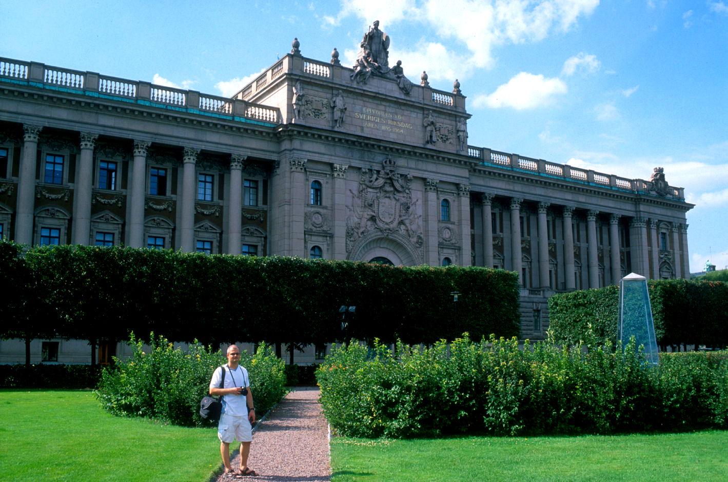 Riksdagsbygningen. Foto: Pål Stagnes