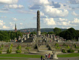 Monolitten i Vigelandsparken. Foto: Pål Stagnes