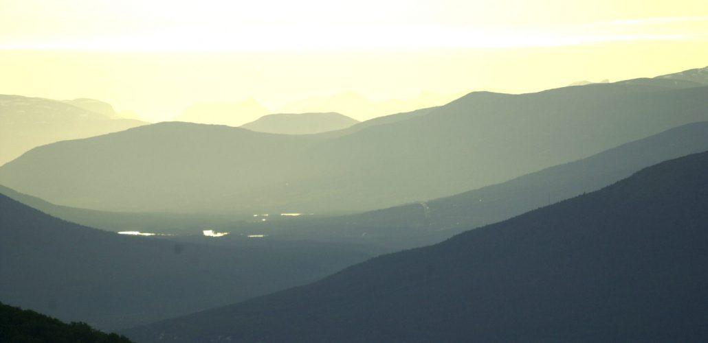 På tur over Valdresflya. Foto: Pål Stagnes