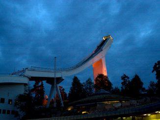 Holmenkollbakken. Foto: Pål Stagnes