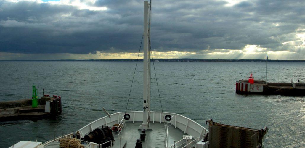 På tur med HH-Ferries fra Helsingborg til Helsingør. Foto: Pål Stagnes