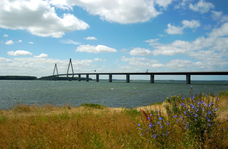 Vi forlater et trekkfullt Danmark. Foto: Pål Stagnes