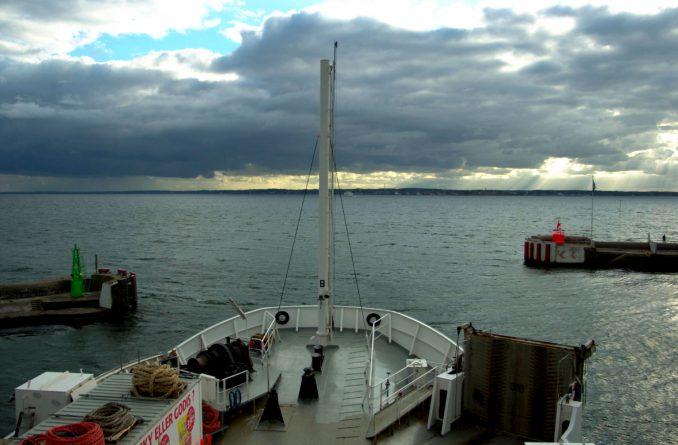 Fra Helsingborg i Sverige reiser ved med HH-Ferries til Helsingør i Danmark. Foto: Pål Stagnes