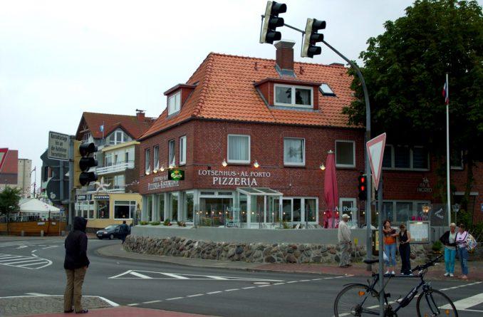 Al Porto i Heiligenhafen har verdens beste pizza. Foto: Pål Stagnes