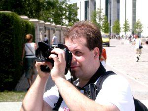Berlin byr på mange spennende fotoobjekter, og for en hobbyfotograf som meg var kameraet mye fremme i Berlin. Foto: Ivan André Buvik