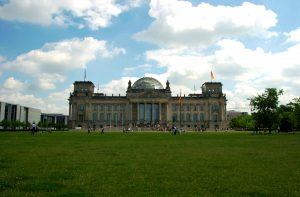 Riksdagsbygningen i Berlin. Foto: Pål Stagnes