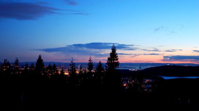 Utsikt fra Røverkollen. Foto: Pål Stagnes