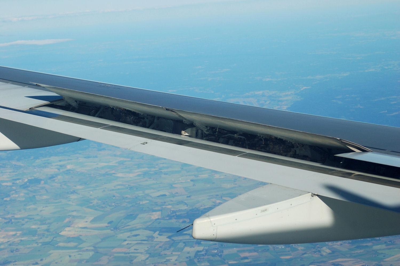 Bilde tatt fra TAP Air Portugals rute 513 fra Oslo til København. Foto: Pål Stagnes