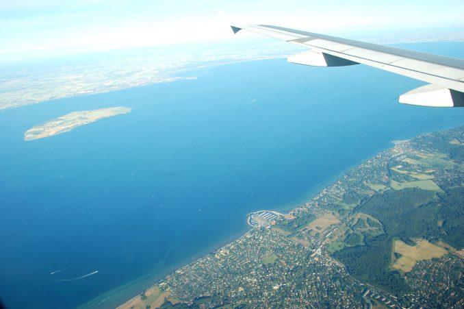 På vei inn mot København med TAP Air Portugals rute 513. Foto: Pål Stagnes