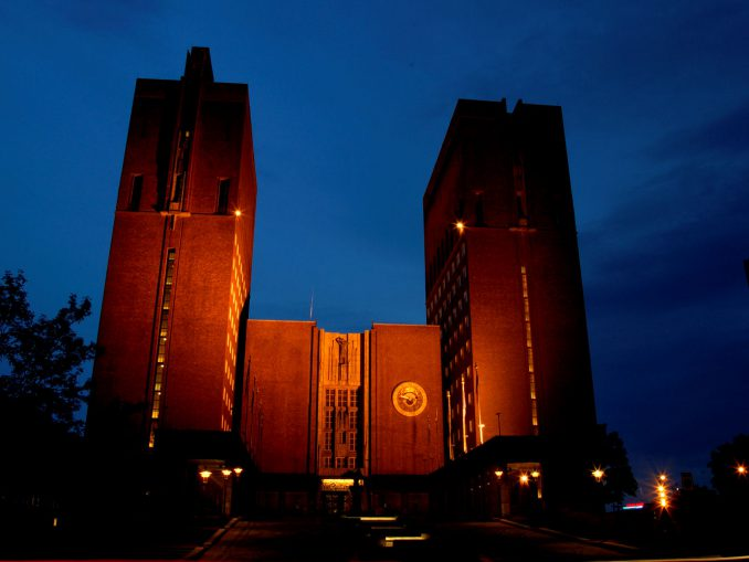 Rådhuset i Oslo. Foto: Pål Stagnes