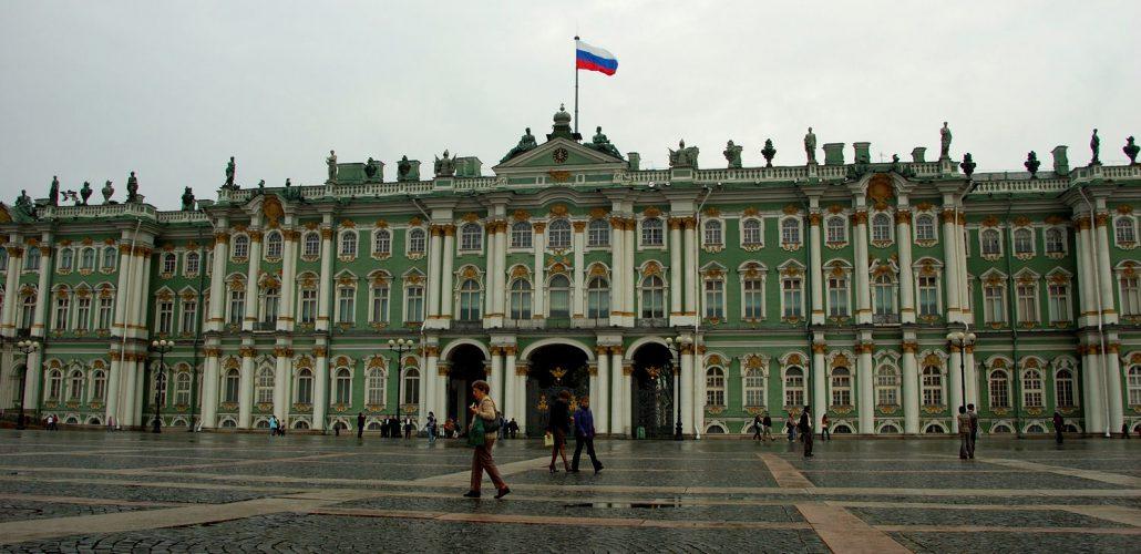 Vinterpalasset (Eremitage) i St. Petersburg. Foto: Pål Stagnes