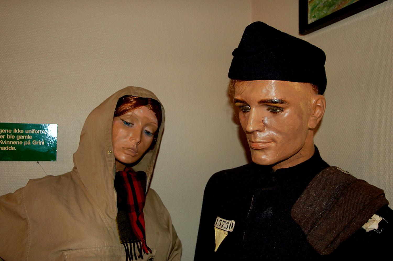 Grini-museet: Fanger. Foto: Pål Stagnes