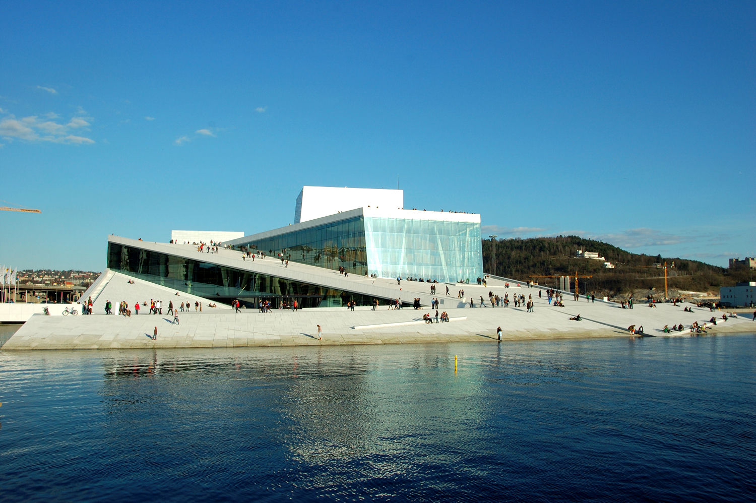 The opera. Photo: Pål Stagnes