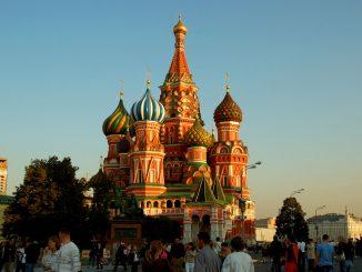 På Den Røde Plass i Moskva. Foto: Pål Stagnes