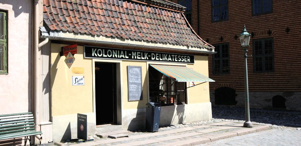 På Norsk Folkemuseum. Foto: Pål Stagnes