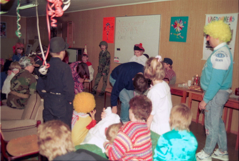 Carnival in Rauma Youth's Red Cross. Photo: Pål Stagnes