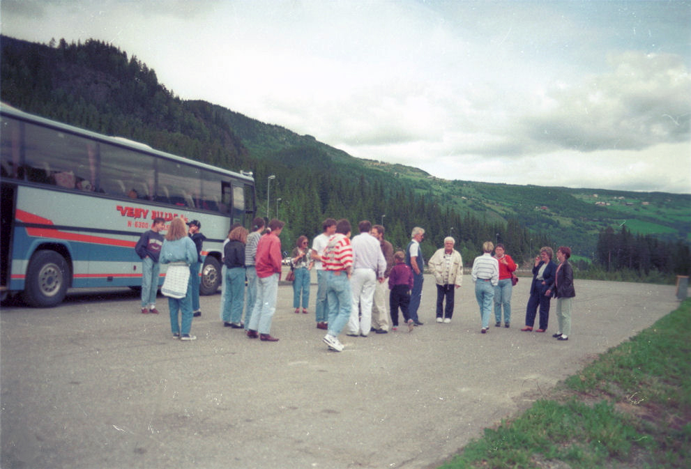 School band tour to Germany (1991). Photo: Pål Stagnes
