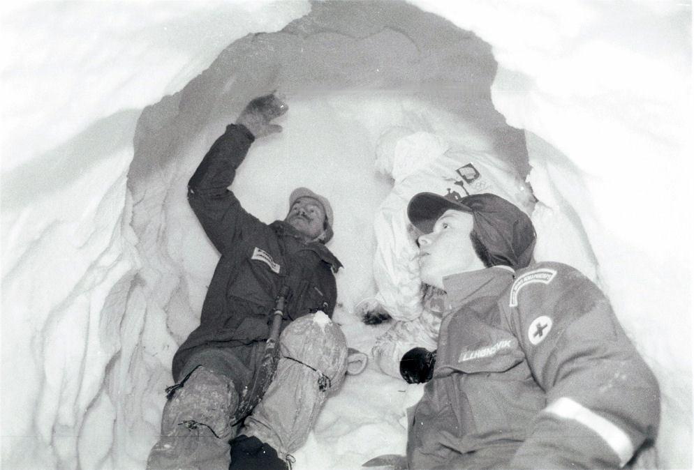Vinter C-kurs i Skorgedalen (1994). Foto: Pål Stagnes