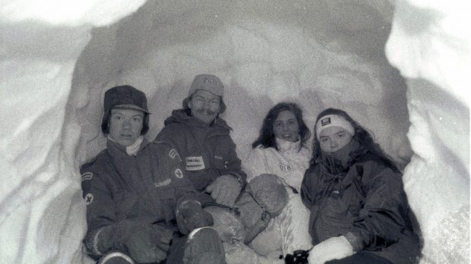 Vinter C-kurs, Skorgedalen (1994). Foto: Pål Stagnes
