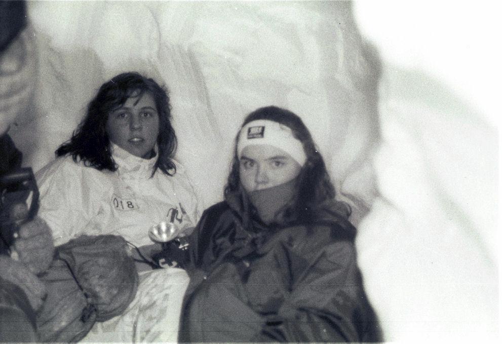 Winter C training in Skorgedalen (1994). Photo: Pål Stagnes
