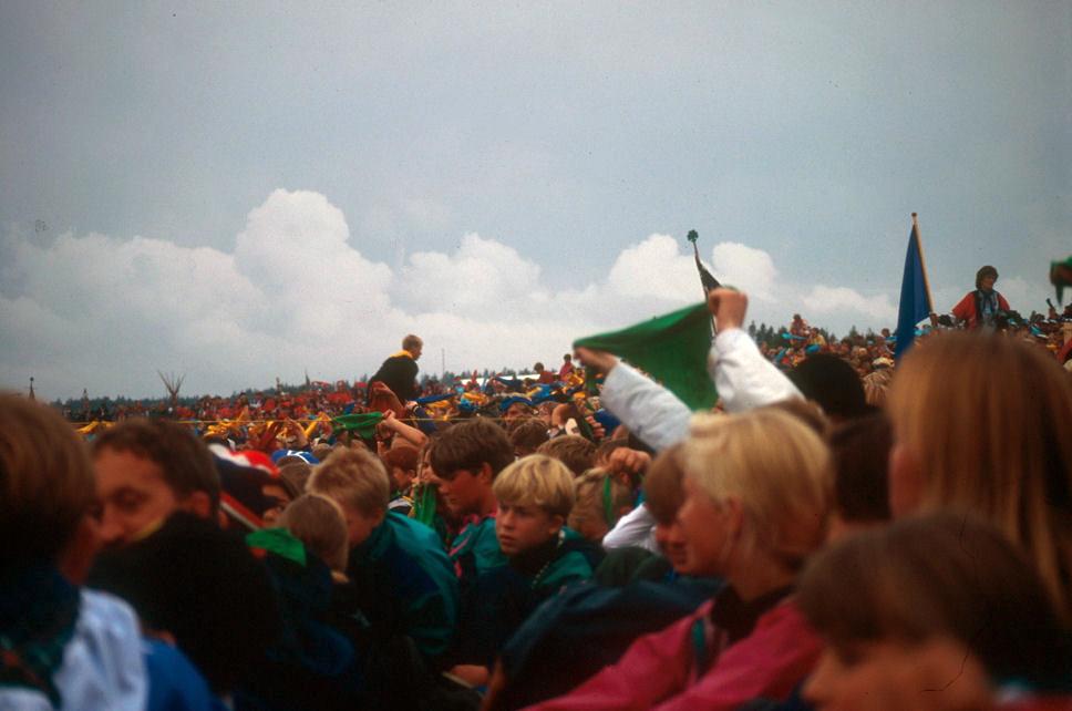 Landsleir Eidskog 1993. Foto: Pål Stagnes
