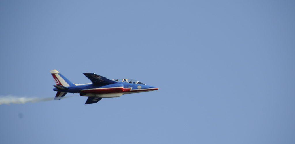 Flyshow i Oslo: Patrouille de France. Foto: Pål Stagnes