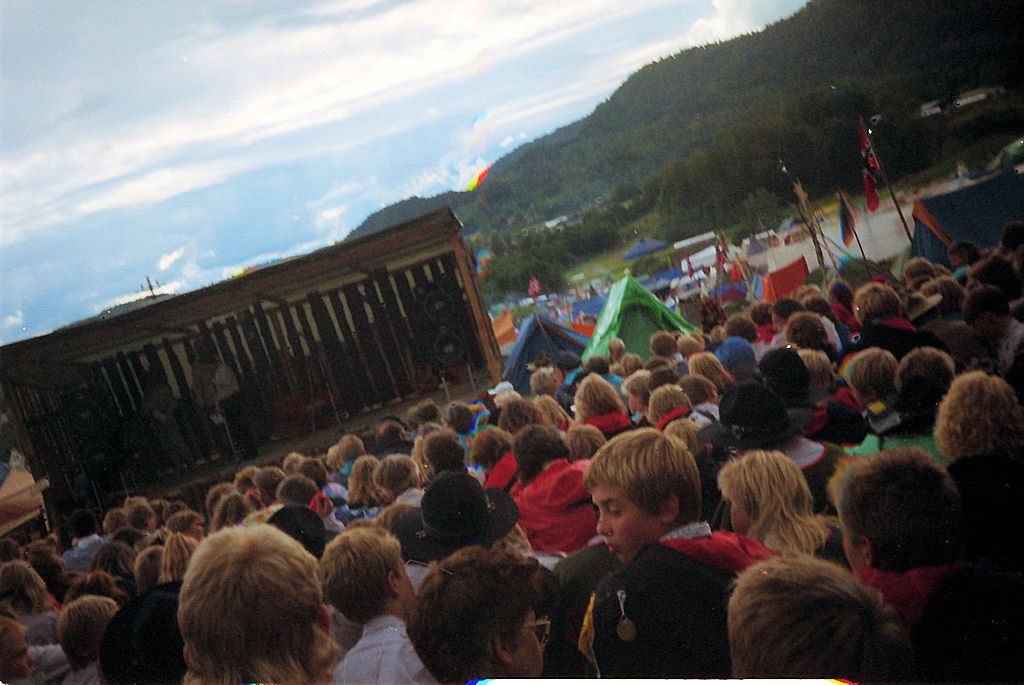 Landsleir Skaugum. Foto: Pål Stagnes