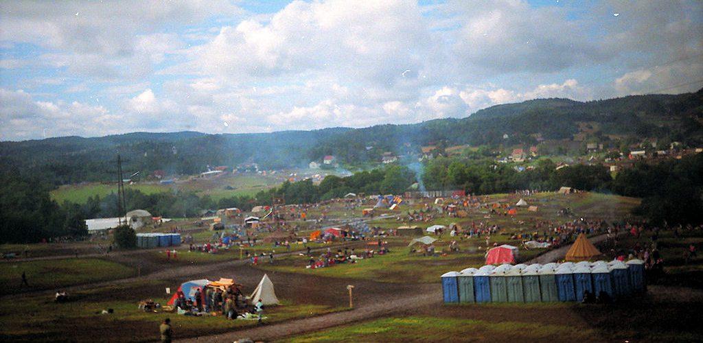 Norges Speiderforbund: Landsleier Skaugum 5. - 12. august 1989. Foto: Pål Stagnes