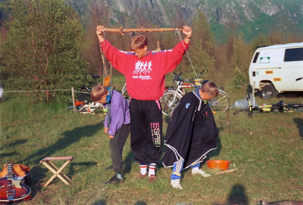 Scout district camp 1991. Photo: Pål Stagnes