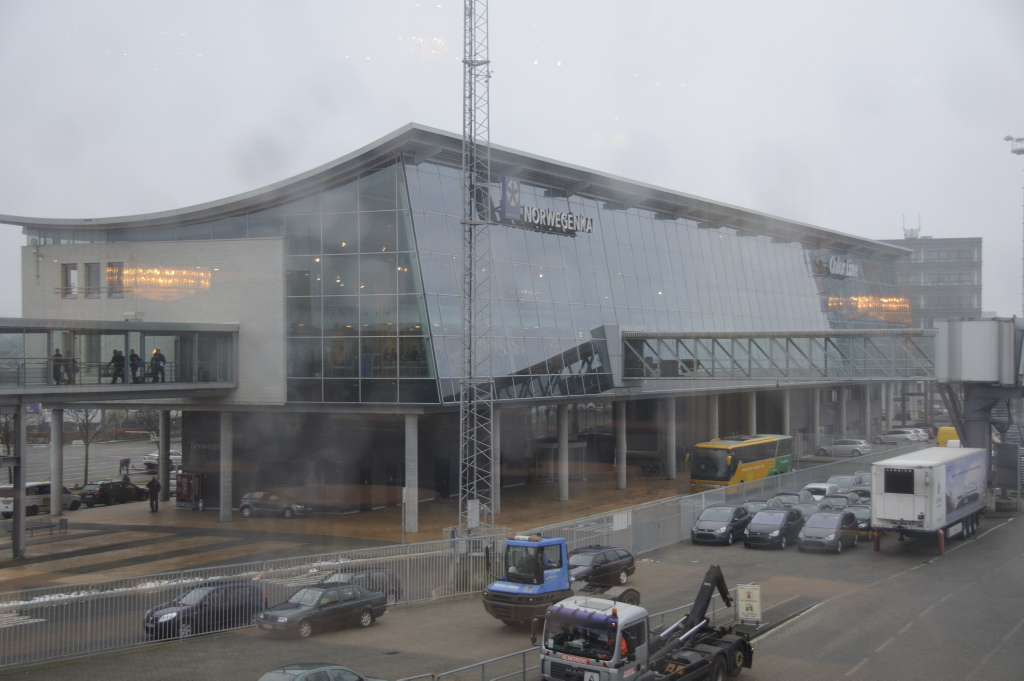 To Kiel with M/S Color Magic. Photo: Pål Stagnes