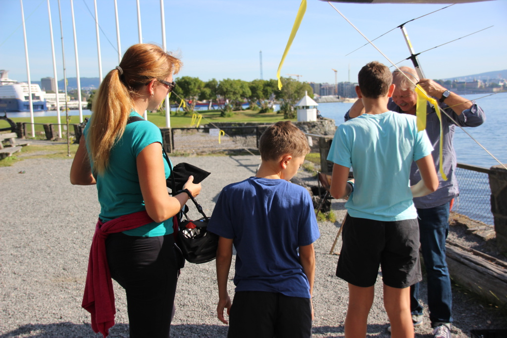 LA4O Field Day 2013, Norsk Maritimt Museum, Bygdøy. Foto: Paul Henrik Wanderås (LA5FRA)