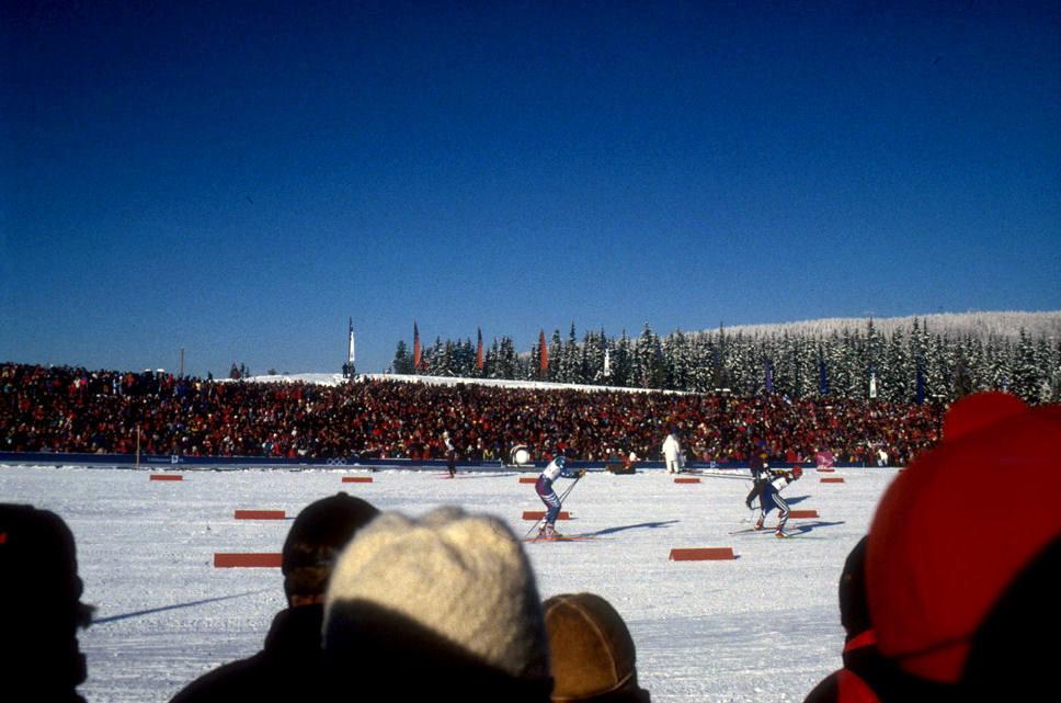 OL in Lillehammer. Photo: Pål Stagnes