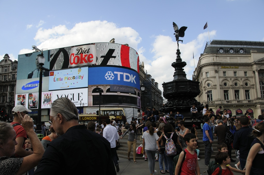 Picadilly Circus. Photo: Pål Stagnes