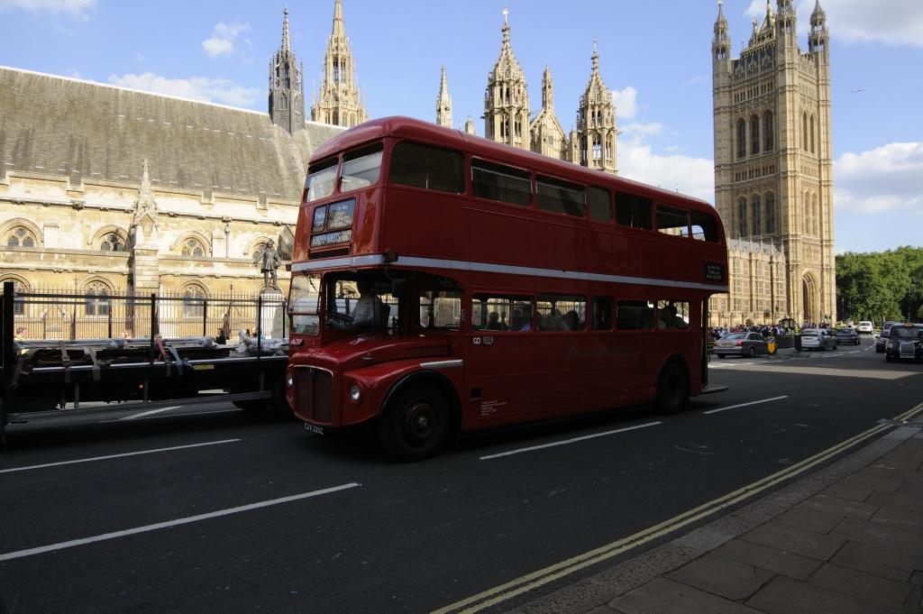 Londonbuss. Foto: Pål Stagnes
