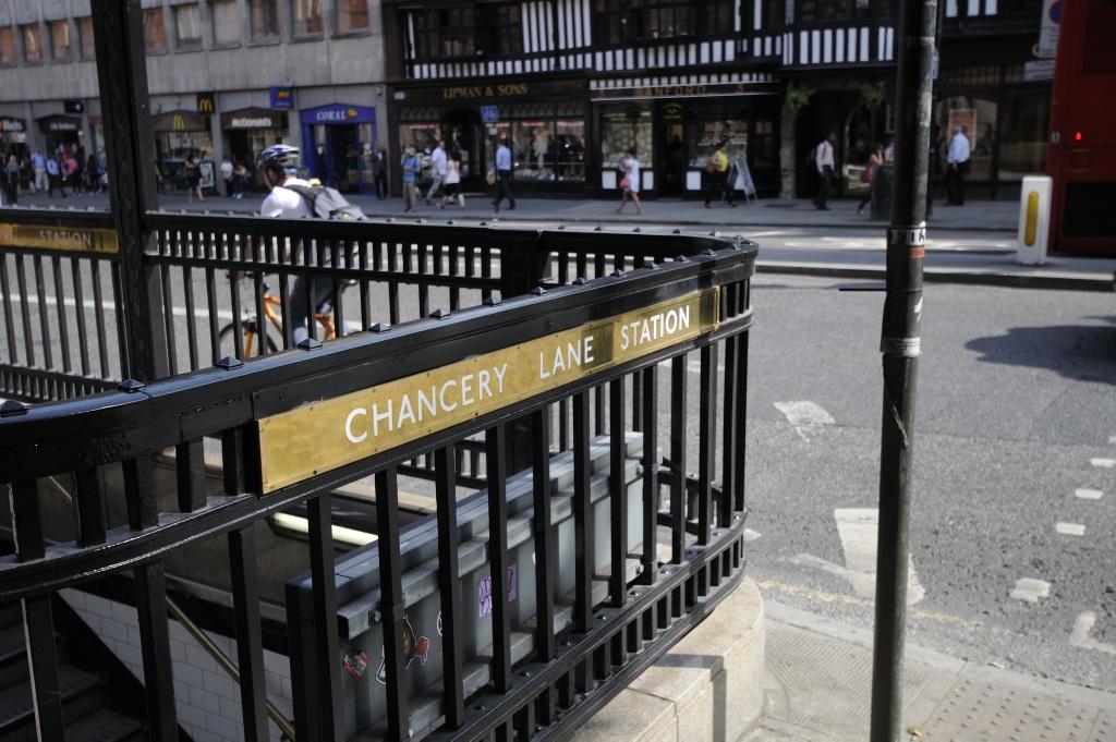 Chancery Lane Station. Foto: Pål Stagnes
