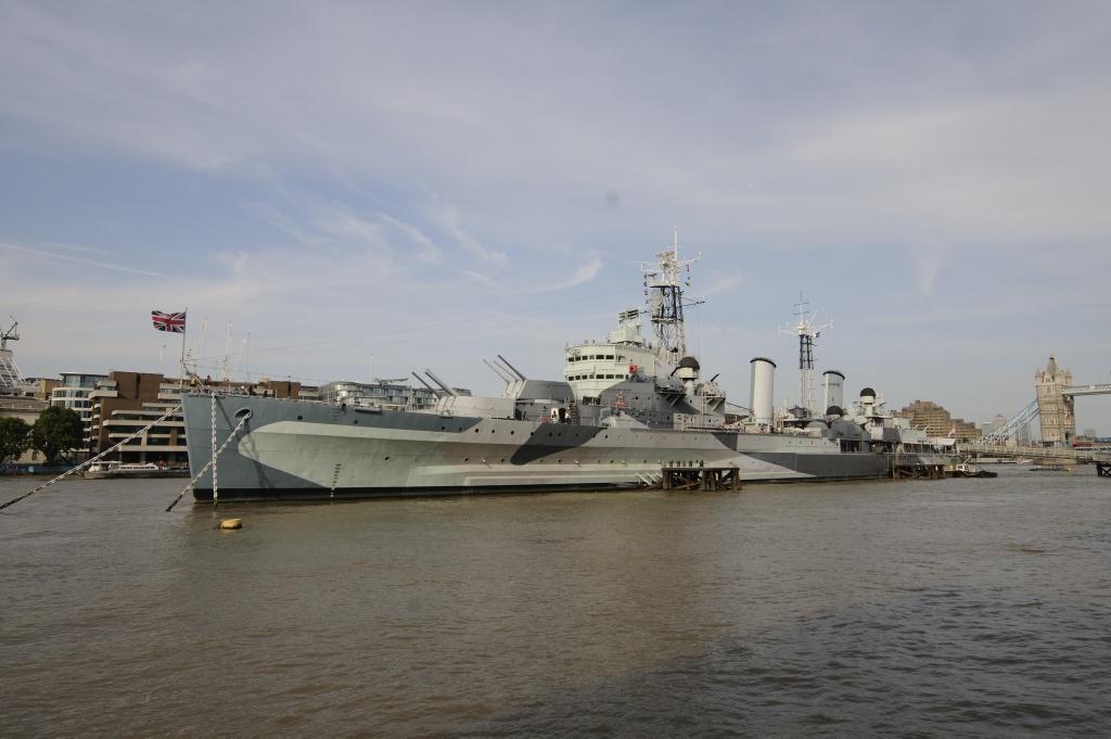 HMS Belfast. Foto: Pål Stagnes