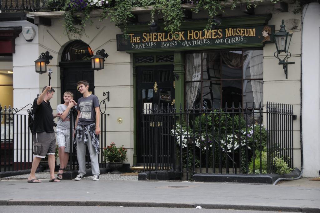 Sherlock Holmes Museum. Foto: Pål Stagnes