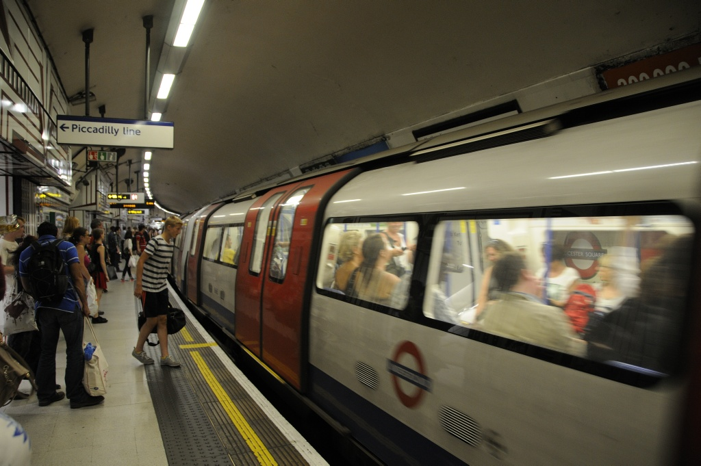 London Underground. Foto: Pål Stagnes
