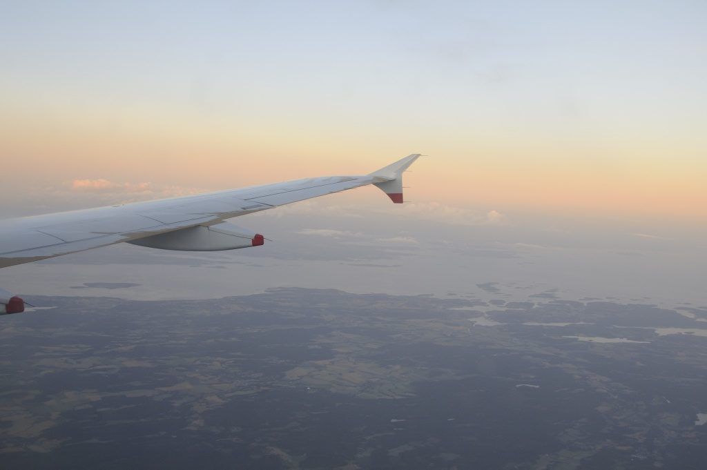 On the way home on board BA 770 from Heathrow to Oslo. Photo: Pål Stagnes