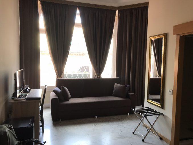 Hotellrommet. Foto: Pål Stagnes