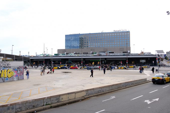 Barcelona Sants jernbanestasjon. Foto: Pål Stagnes